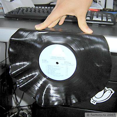 Часики VinylTime - своими руками