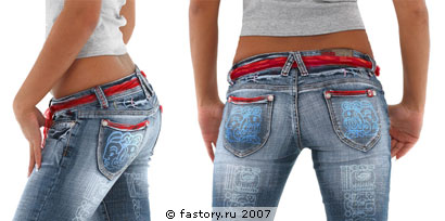 как украсить сумку из джинса.