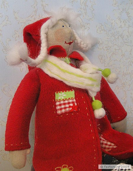 Выкройки одежды для большой куклы своими руками