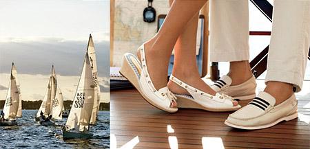 модная обувь топсайдеры