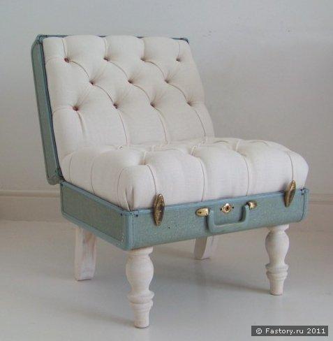 Логично? кресло в виде чемодана смотрится очень интересно.  22:36.