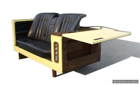 Мебель своими руками из старых авто кресел