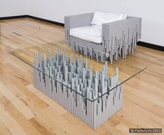 Мебель своими руками - кресло и столик