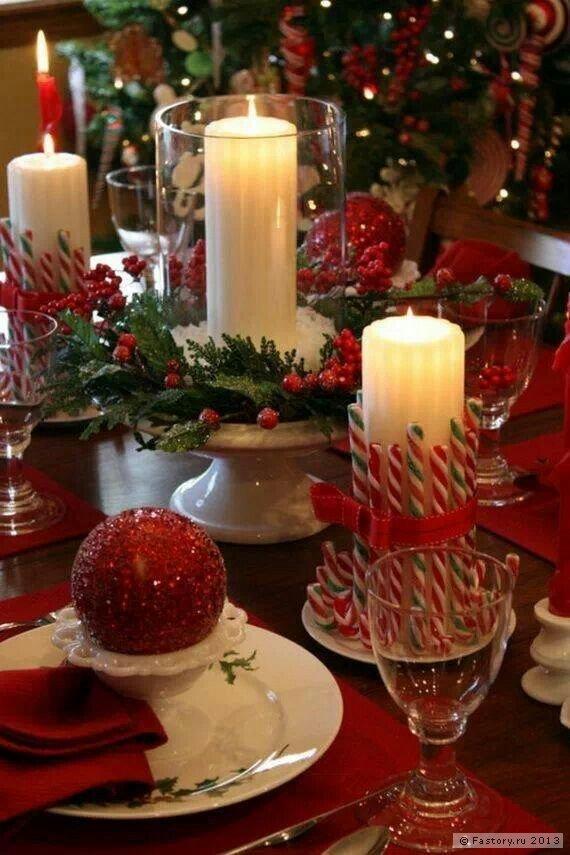 Украшаем стол на новый год своими руками