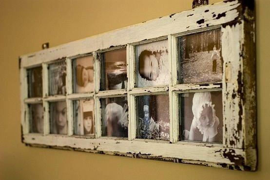 Как украсить старое окно своими руками 22