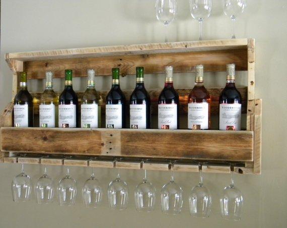 Фото полочки для вина 3