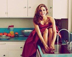 Eva Mendes на обложке Flare May 2014