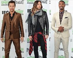 Мужской стиль на церемонии Film Independent Spirit Awards 2014