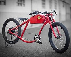 Электро-велосипеды в стиле ретро