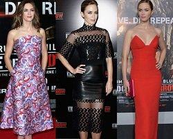 Emily Blunt - 3 мировых премьеры, 3 ярких образа