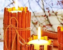 Новогодние свечи – копилка идей