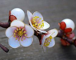 Канзаши – ювелирное искусство