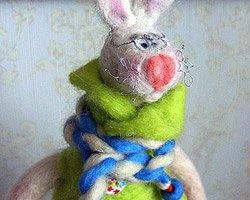 Кукла - Интеллигентный Заяц