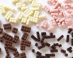 Конструктор Lego из… шоколада!