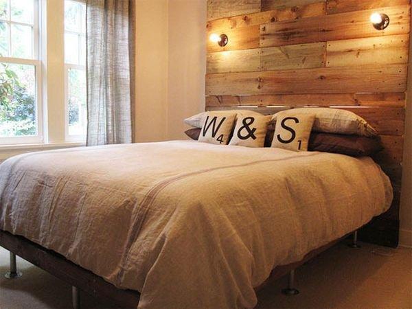 Изголовье для кровати в домашних условиях