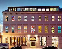 Арт отель в Берлине