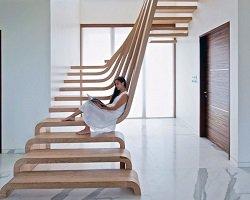 Дизайнерские лестницы со всего мира
