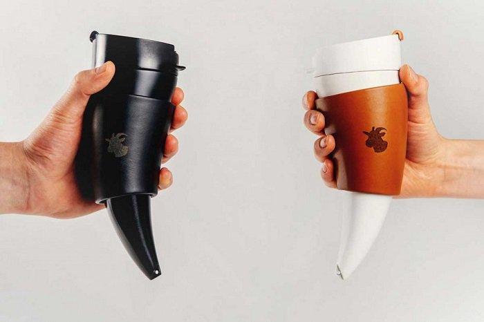 Оригинальные кружки для кофе Козочка