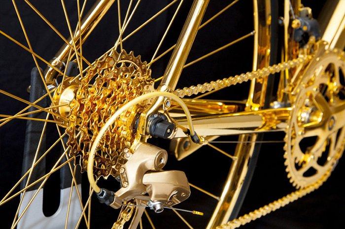 велосипед из золота