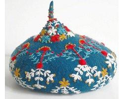 Handmade береты от талантливой японки