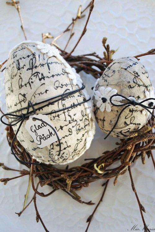 Декупаж - творческие идеи для вашего дома. Декор яиц к Пасхе