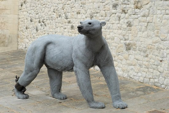 Скульптуры диких животных by Kendra Haste