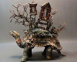Невиданные звери из глины by Ellen Jewett