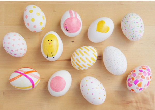Рисунки на яйцах на пасху