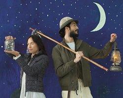 Woolrichart: «Летняя ночь. Светлячки и звезды»