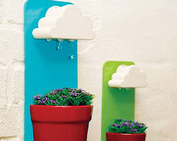 Горшки для цветов с облачками