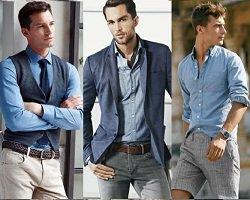 Тренды в мужской моде 2015: джинсовая одежда