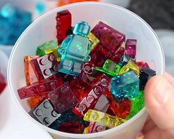 Lego-желе своими руками: вкусно и весело