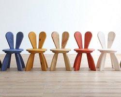Коллекция детской мебели с заячьими ушками