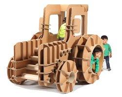 Удивительные детские игрушки из картона