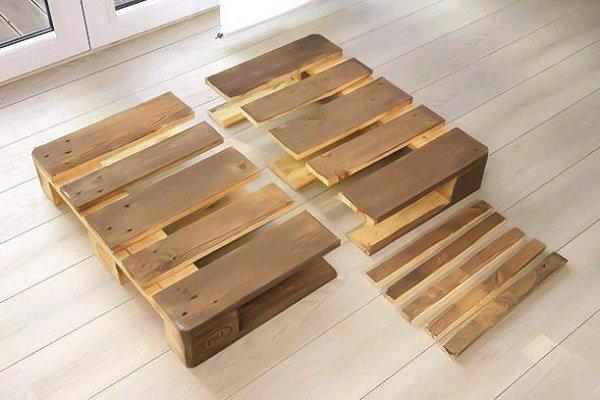 Диван из деревянных паллет: мастер-класс