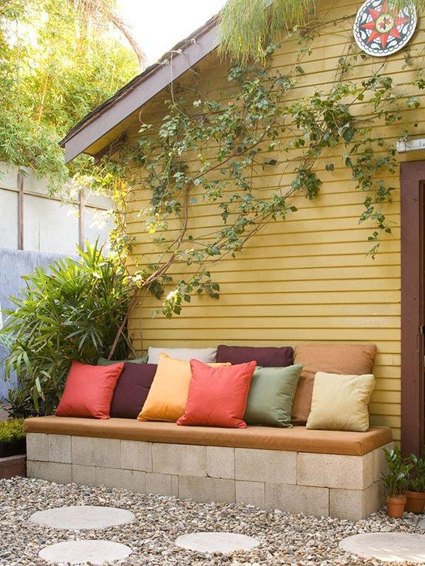10 идей уличного дизайна из цементных блоков