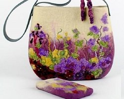 Handmade вещи из фетра от Марины Майоровой
