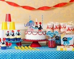 Фуд-дизайн сладостей для любителей цирка