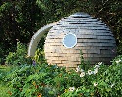 Круглый и уютный эко-домик Podzook