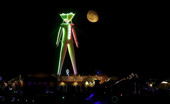 Фестиваль Burning Man 2015 в Неваде