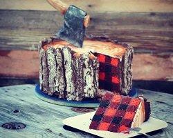 Креативный торт для настоящего мужчины