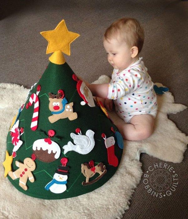Сделать новогодние игрушки своими руками для детей