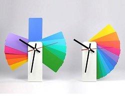 Дизайнерские часы-трансформер