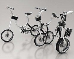Складной велосипед для городских поездок