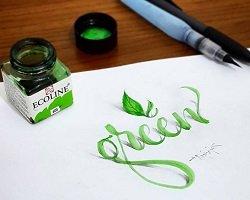 Трехмерная каллиграфия by Tolga Girgin