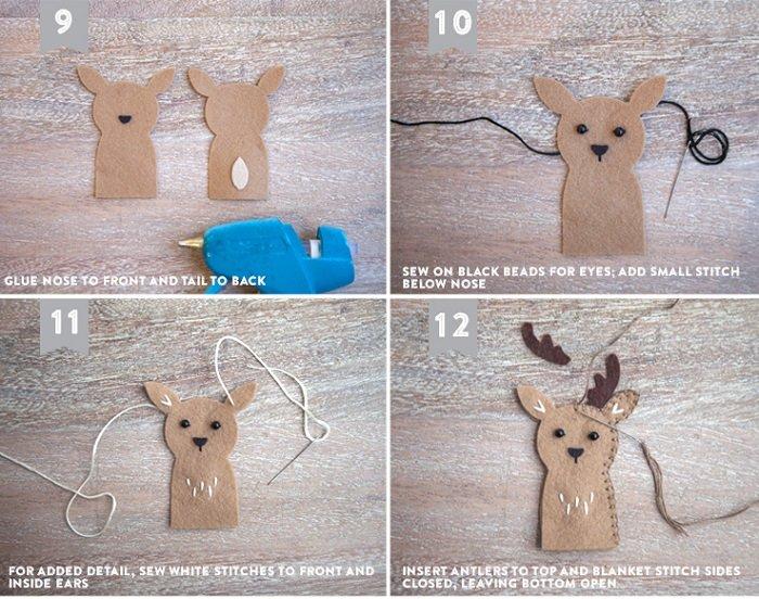 Мастер-класс: пальчиковые куклы из фетра