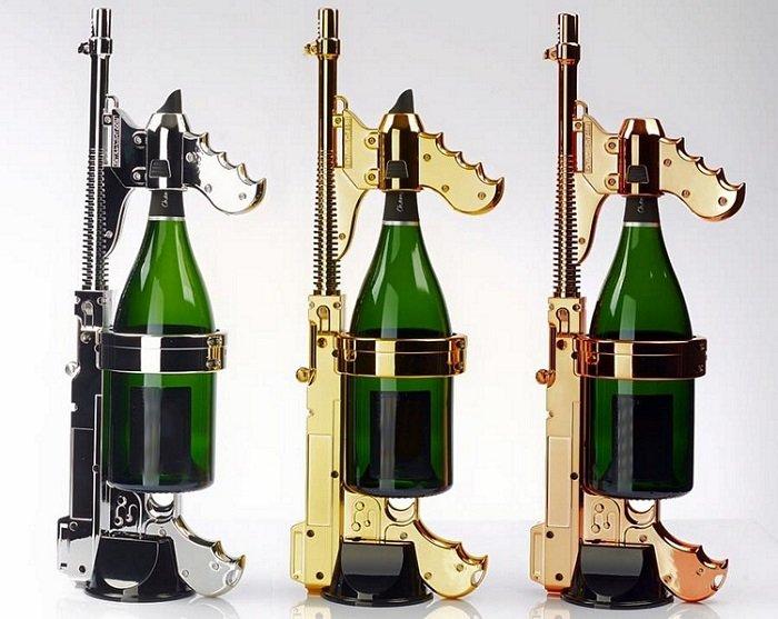 Битва шампанским – гвоздь любой вечеринки!