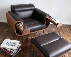 Дизайнерское кресло для любителей сигар