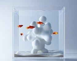 Трехмерный дизайн для аквариума by Haruka Misawa
