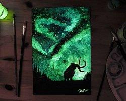 Мерцающие в полумраке картины by Cristoforo Scorpiniti